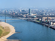 Flusslandschaft Rhein