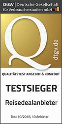 touriDat ist Testsieger 2018